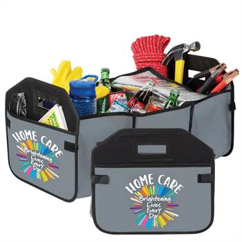 Home Care: Brightening Lives Every Day 2-In-1 Trunk Organizer & Cooler