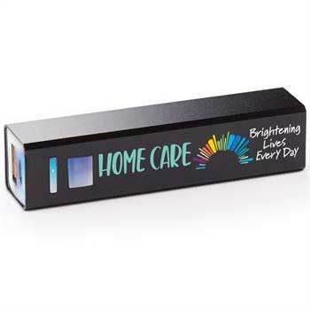 Home Care: Brightening Lives Every Day UL® Metal Power Bank