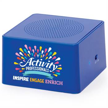 Activity Professionals: Inspire, Engage, Enrich Bluetooth® Speaker