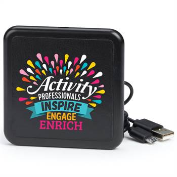 Activity Professionals: Inspire, Engage, Enrich Wireless Phone Charging Pad