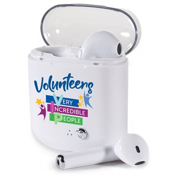 Volunteers: Very Incredible People Bluetooth® Earbuds in Charging Case