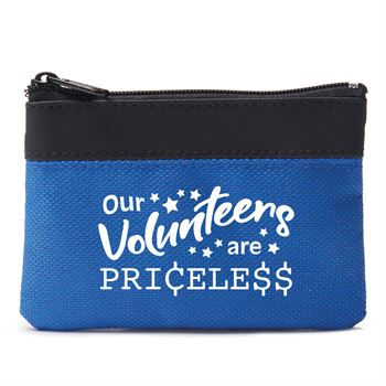 Our Volunteers Are Priceless Coin Pouch