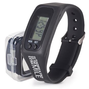 Our Teachers & Staff Go The Extra Mile Fitness Watch Pedometer