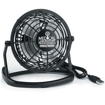 Medical Laboratory Professionals: Healthcare Detectives USB Plug-In Fan