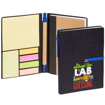 Without The Lab You're Only Guessing Jotter With Sticky Notes & Pen