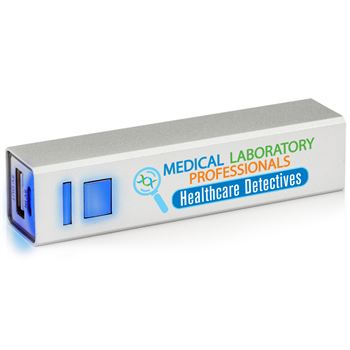 Medical Laboratory Professionals Healthcare Detectives UL® Metal Power Bank