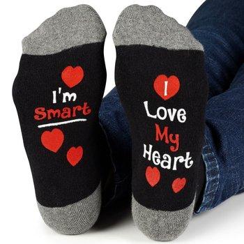 I'm Smart, I Love My Heart Ankle Socks