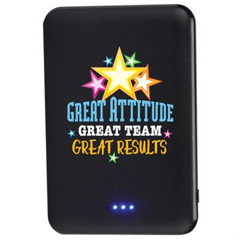Great Attitude, Great Team, Great Results Compact 5,000 mAh UL® Power Bank