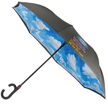 Individually We Are One Drop, Together We Are The Ocean In & Out Inverted Automatic Umbrella