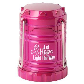 Let Hope Light The Way Mini Indoor/Outdoor Retractable Lantern