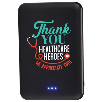 Thank You Healthcare Heroes Compact 5,000 mAh UL ® Power Bank