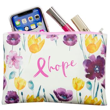 Hope Floral Carry-All Pouch