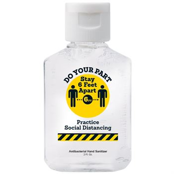 Do Your Part Stay 6-Feet Apart 2-Oz. Hand Sanitizer