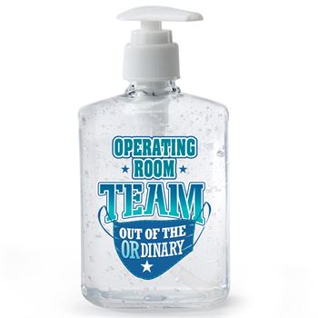 Operating Room Team: Out Of The OR-dinary 8-Oz. Hand Sanitizer Gel Pump