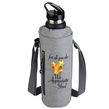 For All You Do We Appreciate You Insulated Bottle Cooler Sling