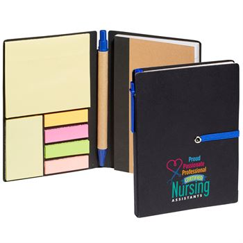 Certified Nursing Assistants: Proud, Passionate, Professional Jotter With Sticky Notes & Pen