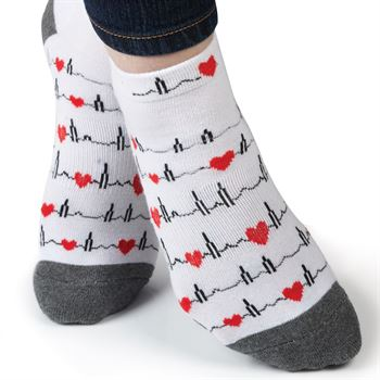 EKG Ankle Socks