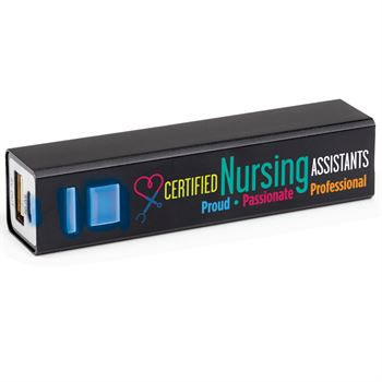 Certified Nursing Assistants: Proud, Passionate, Professional UL® Metal Power Bank