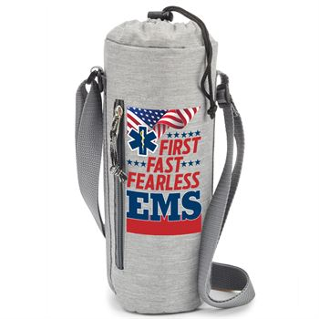 EMS: First. Fast. Fearless Insulated Bottle Cooler Sling