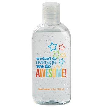 We Don't Do Average We Do Awesome 4-oz. Hand Sanitizer