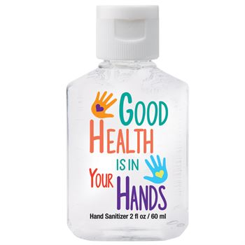 Good Health Is In Your Hands 2-Oz. Hand Sanitizer