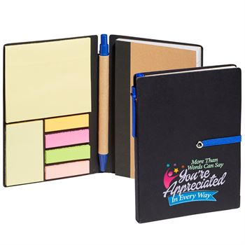 More Than Words Can Say You're Appreciated In Every Way Jotter With Sticky Notes & Pen