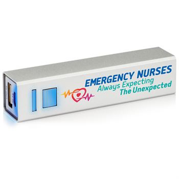 Emergency Nurses: Always Expecting The Unexpected  UL® Metal Power Bank