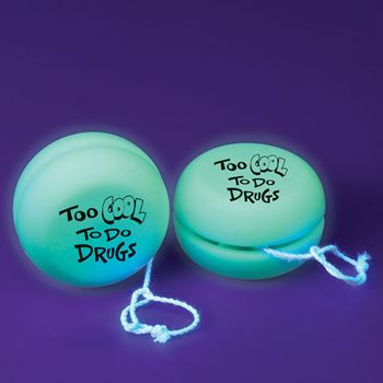 Too Cool To Do Drugs Glow In The Dark Yo-Yo