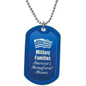 Military Families: America's Homefront Heroes Dog Tag