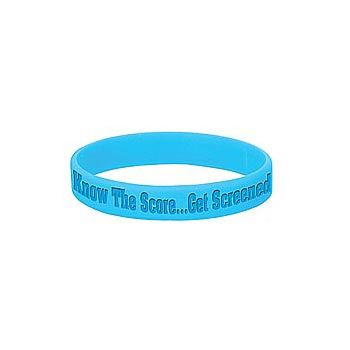 Know The Score...Get Screened Bracelet