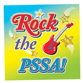 Rock The PSSA! Rock N' Roll Shaped Rubber Wristbands