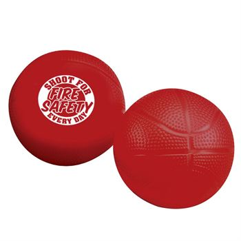 Shoot For Fire Safety Every Day Mini Basketball