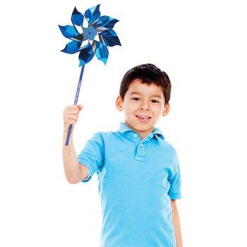 Every Child Matters Mylar Pinwheel