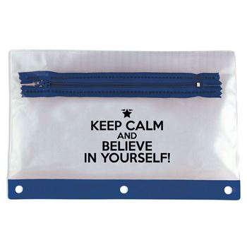 Keep Calm And Believe In Yourself! Pencil Pouch - Pack of 10