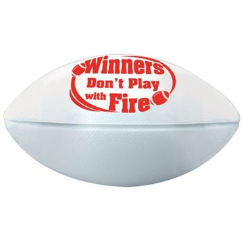 Winners Don't Play With Fire Mini Football