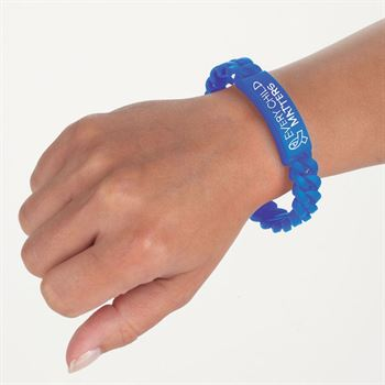 Every Child Matters Link Silicone Bracelet
