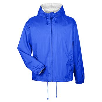 Fleece-Lined Hooded Jacket