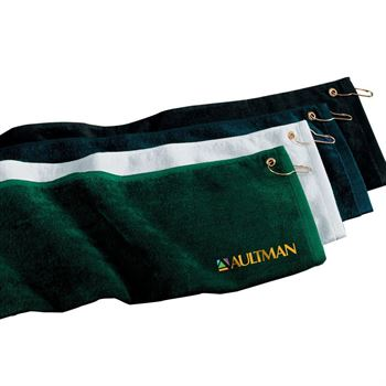 Port Authority Grommeted Golf Towel - Personalization Available
