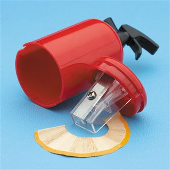 Fire Extinguisher-Shaped Pencil Sharpener (Personalized)
