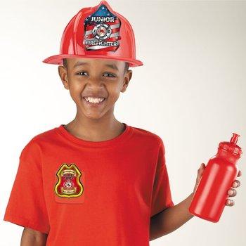 Junior Fire Chief Plastic Badge