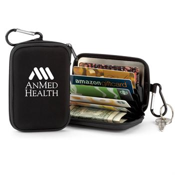 Identity Guard Wallet With Carabiner - Personalization Available