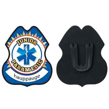 Junior Paramedic Plastic Badge - Personalization Available