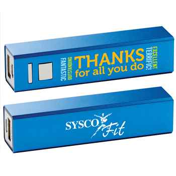 Thanks For All You Do Metal Power Bank - Personalized