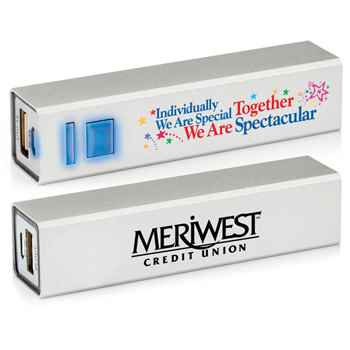 Individually We Are Special, Together We Are Spectacular Metal Power Bank - Personalization Available