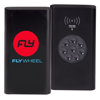 Wireless 4000 mAh UL® Power Bank - Full Color Personalization Available