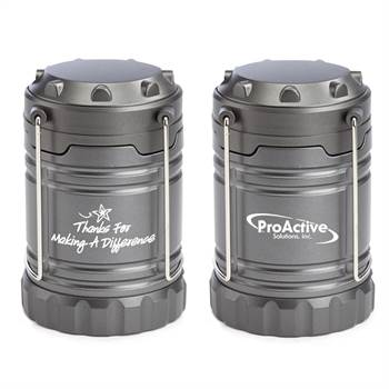 Thanks For Making A Difference Positivity Indoor/Outdoor LED Retractable Lantern With Magnetic Base Plus Personalization