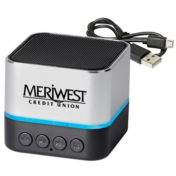 Personalized Two-Tone Metal Bluetooth� Speaker