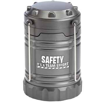 Safety: It's A Team Effort Indoor/Outdoor Retractable LED Lantern