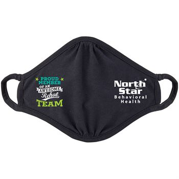 Proud Member Rehab Team 2-Ply 100% Cotton Mask - Personalization Available