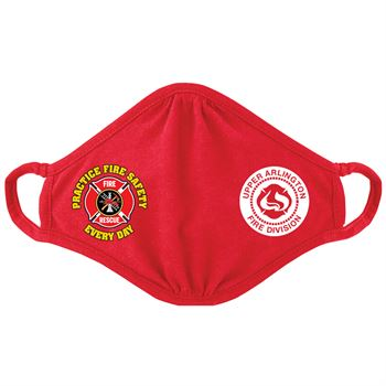 Practice Fire Safety�2-Ply Blended Youth Face Mask - Personalization Available